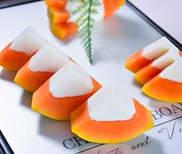 #美食视频挑战赛# 木瓜牛奶冻的做法