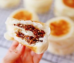 宣软无比美味花生芝麻红糖发面小饼的做法