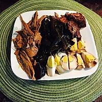 最棒卤味—卤牛肉,卤蛋,卤菜+红烧牛肉面的做法图解7