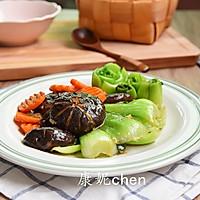 香菇炒青菜#宜家让家更有味#的做法图解11