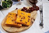 一分钟减肥早餐,减肥懒人/赖床鬼/小白必学:黄金蔓越莓吐司的做法