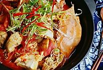 料足开胃#白贝豆腐土鸡花蟹煲#的做法