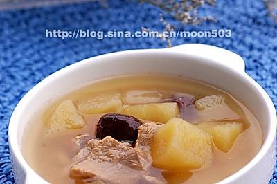 红枣苹果煲瘦肉