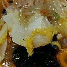 经典改编:鸡肉白菜炖粉条