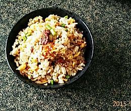 牛干巴炒饭的做法