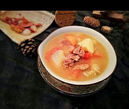 番茄牛腩汤的做法