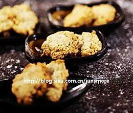 椰蓉燕麦酥饼的做法