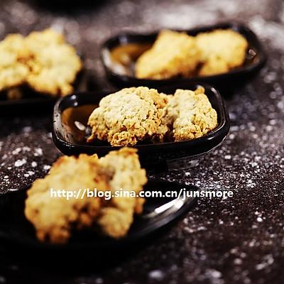 椰蓉燕麦酥饼