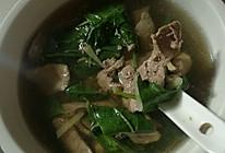 枸杞猪肝养生汤的做法