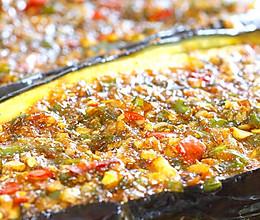 烤箱版:非常下饭特别简单的蒜香茄子的做法
