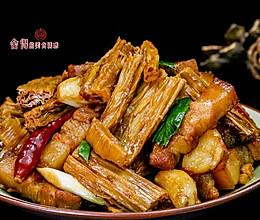 家常下饭菜【红烧腐竹】的做法