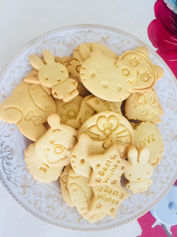 卡通造型小饼干的做法