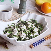 香椿拌豆腐#春季减肥,边吃边瘦#的做法图解9