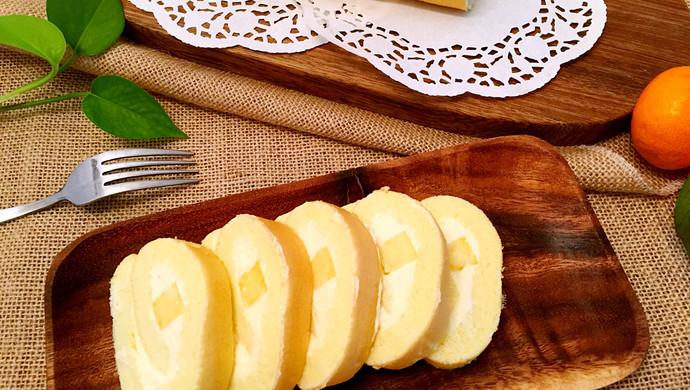 奶油菠萝蛋糕卷