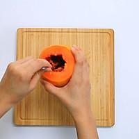 木瓜牛奶冻——迷迭香的做法图解4
