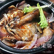 港式生啫之砂锅鱼头煲