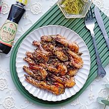 #太太乐鲜鸡汁玩转健康快手菜#酥香可口的茶香虾 连壳都吃光