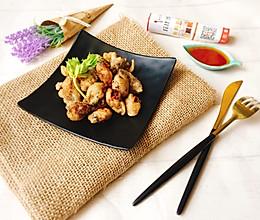 香酥海蛎#丘比沙拉汁#的做法