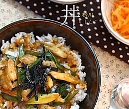 柳川丼的做法