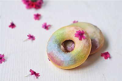 七彩蔬菜汁甜甜圈#有颜值的实力派#