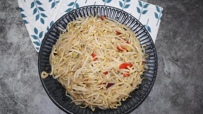 酸辣豆芽菜 | 格瑞美厨GOURMETmaxx一体机的做法