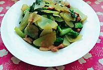 肉炒莴笋的做法