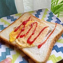 五分钟快手早餐 吐司蛋
