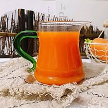 自然健康果蔬汁~胡萝卜苹果汁#今天吃什么#