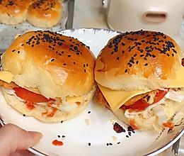 自制鸡排汉堡的做法