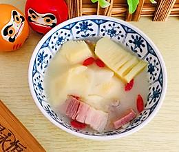上海菜早春的味道一腌笃鲜(含百叶结打法)的做法