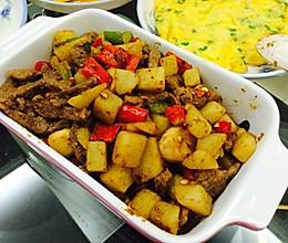土豆牛柳的做法