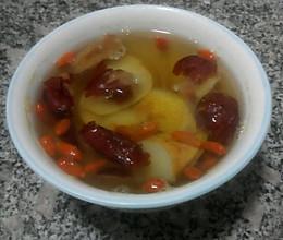 红枣梨汤的做法