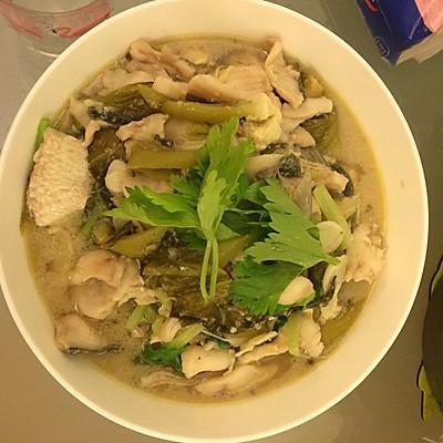 家常酸菜魚