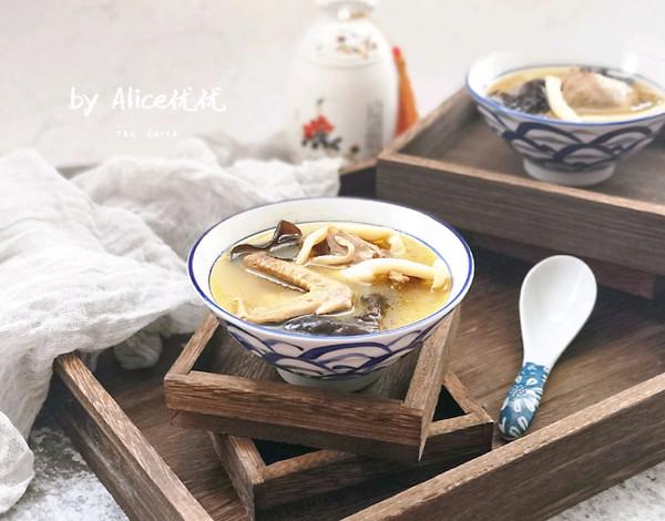 菌菇鸽子汤的做法