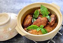 用料正宗的台式三杯鸡翅的做法