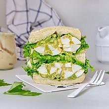 香芹鸡蛋沙拉三明治#春季食材大比拼#