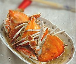 倒立蒸梭子蟹#寻找最聪明的蒸菜达人#的做法