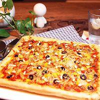 芝士大虾披萨的做法图解17