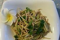 黄瓜豆腐丝的做法
