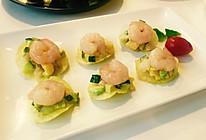 薯片牛油果虾仁沙拉#丘比轻食厨艺大赛#的做法