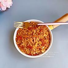 #肉食者联盟#火腿鸡蛋番茄浓汤方便面