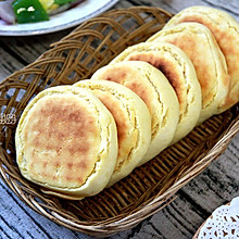 奶香玉米发面饼