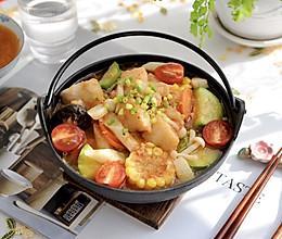 滋补养生必备-番茄龙利鱼时蔬煲的做法