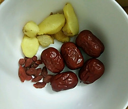 养生汤――生姜红枣红糖水的做法