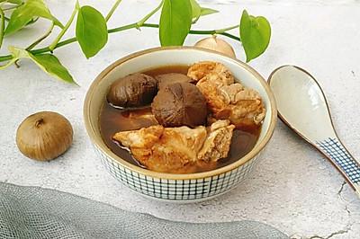 黑蒜龙骨汤