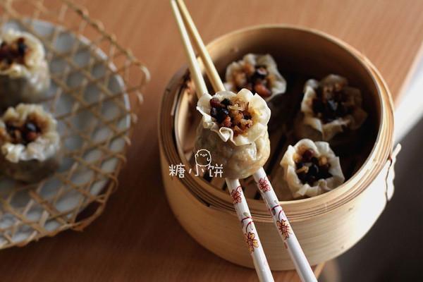 【香菇肉丁糯米烧麦】