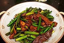 #安佳食力召集,力挺新一年#猪肚炒蒜苔的做法