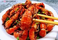 #太太乐鲜鸡汁玩转健康快手菜#辣爆蝼蛄虾的做法