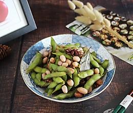 #夏日消暑,非它莫属#【五香毛豆花生米】 夏季必吃小菜的做法