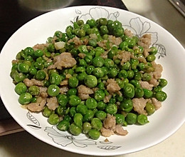 青豆肉沫的做法